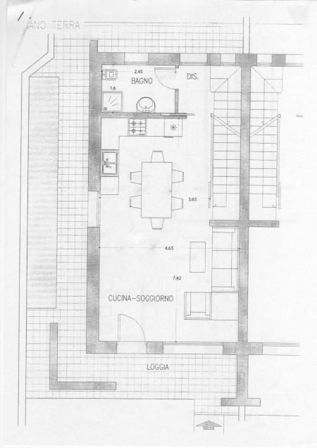 Cucina e living separati in casa - Casa & Design