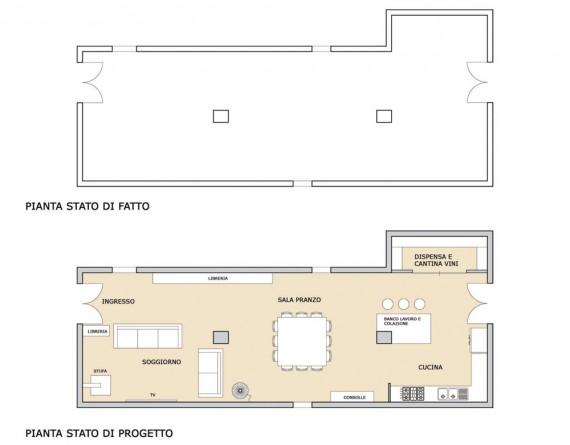 Sos architetto il top per la cucina casa design for Sala da pranzo lunga e stretta