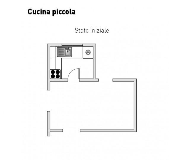 Sos ristrutturazioni idee per mini cucine casa design for Arredare cucine piccole dimensioni
