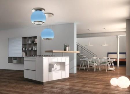 La cappa a colori casa design for Cappa cucina senza tubo
