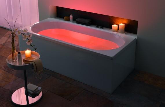 Un bagno di luce casa design