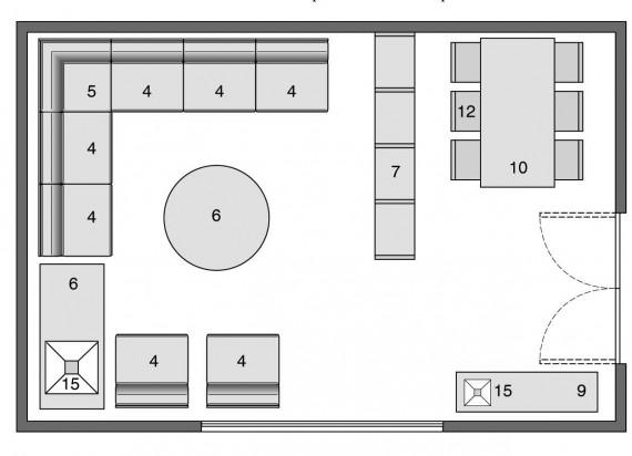 living: arredatelo così - casa & design - Arredare Soggiorno Con Sala Da Pranzo 2