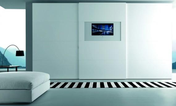 La tv si traveste da armadio - Casa & Design