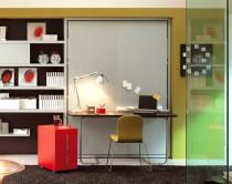 L ufficio in camera da letto con i mobili trasformisti casa design - Progetta la tua camera ...