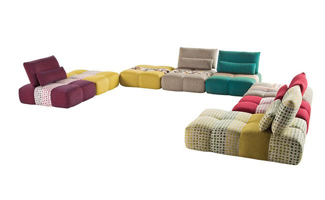 Tra moda e design: il divano è Roche Bobois - Casa & Design
