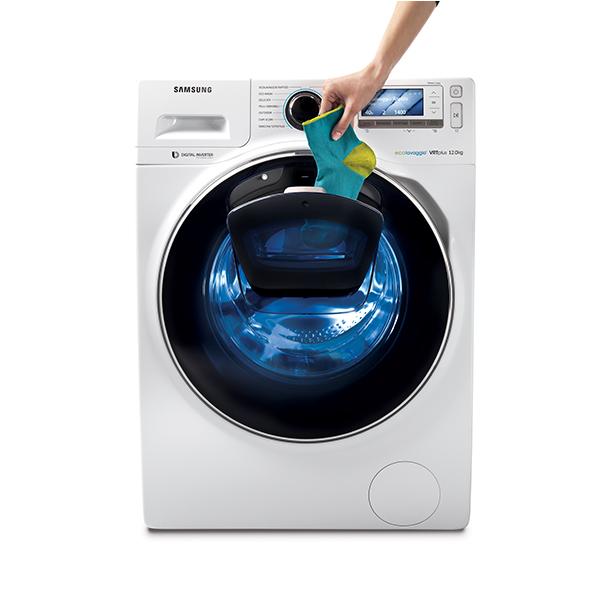 addwash la lavatrice di samsung con due obl casa design