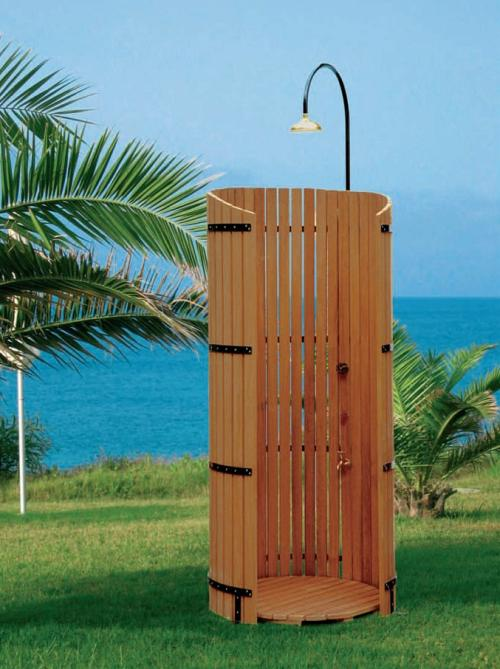 Doccia esterna per giardino termosifoni in ghisa scheda - Cabina doccia esterna ...