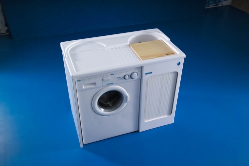 Spazio lavanderia casa design - Mobile sopra lavatrice ...