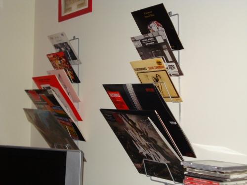 Riuso e riciclo le vostre idee casa design - Porta vinili ikea ...