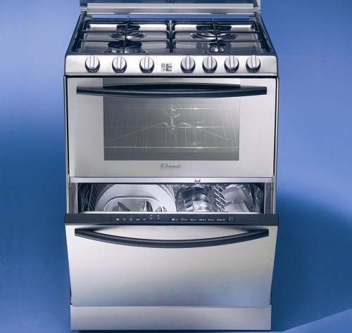 Gli elettrodomestici formato pocket casa design - Piano cottura e forno ...