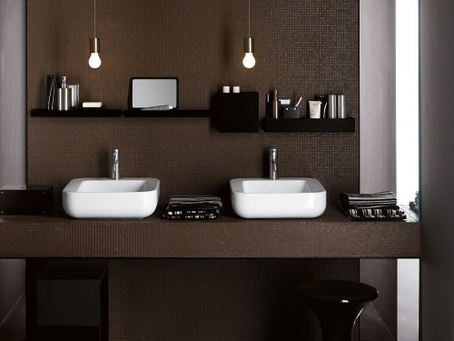 Interior design bagno 2009 casa design - Bagno con due lavabi ...