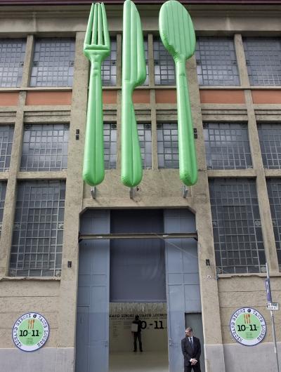 ingresso dell'esposizione Richard Ginori al FuoriSalone