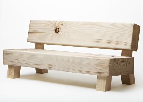 Soft wood sofa di Moroso