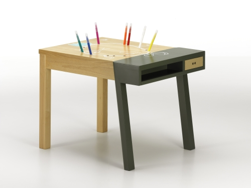 Porcuspine desk di Vitra collection