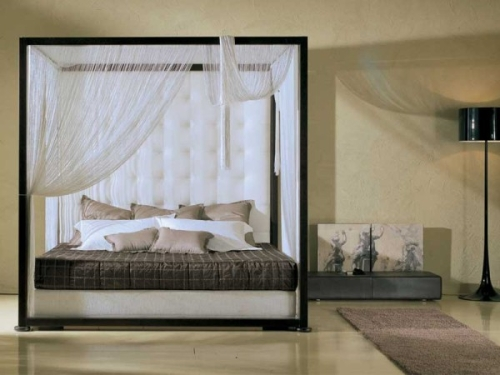 Il letto a baldacchino casa design - Foto letto a baldacchino ...