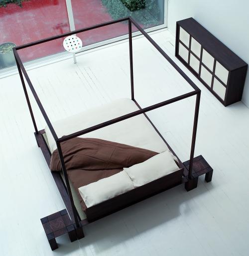 Il letto a baldacchino zen casa design - Un letto di leoni ...