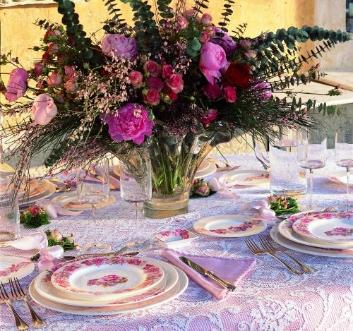 La tavola estiva casa design - Servizio piatti design ...