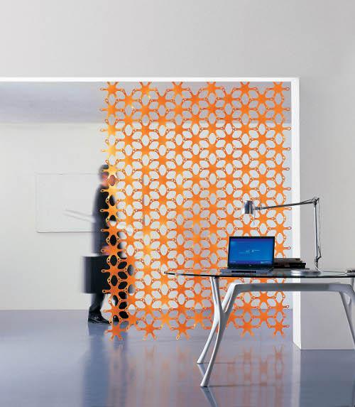 Divisorio Decorativo Ufficio Geko Caimi Brevetti : Arredi superleggeri casa design