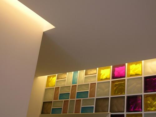 Pareti Di Vetromattone : Lo studio dentistico a colori casa design