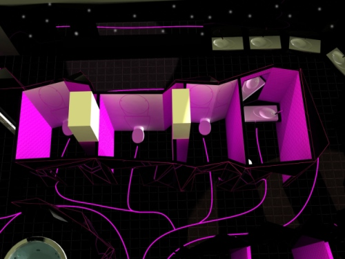 Bath stage di Electro Duck Experience (Francesca Gabellini, Mirko Landena, Francesca Lombezzi, Marco Mugnai, Valeria Portinari)