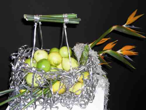Come trasformare un cesto per la frutta in un'opera d'arte