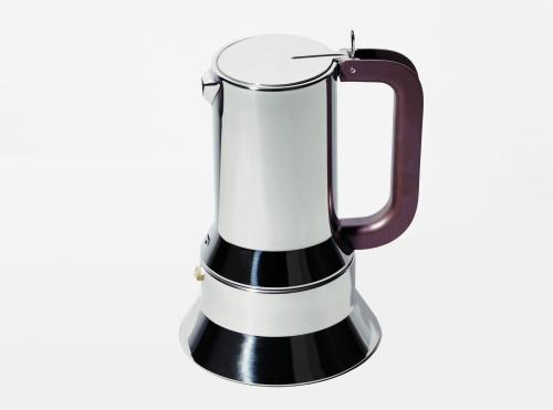 Caffettiera 9090 di Richard Sapper (la prima caffettiera di Alessi)