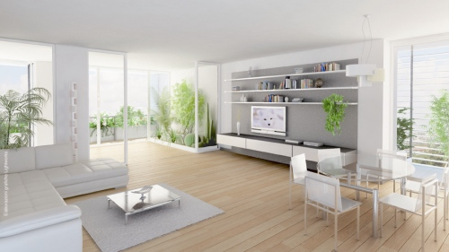 Eurosky tower casa design for Design interni appartamenti