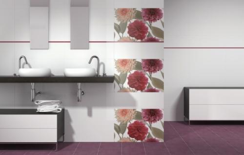Piastrelle per bagno con fiori piastrelle per bagno con fiori
