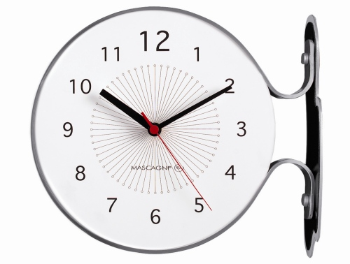 Beautiful si ispira agli orologi da stazione eu daily di for Orologi da tavolo moderni