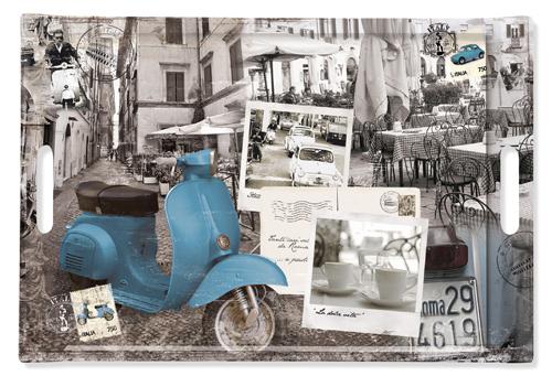 Easy life, vassoio rettangolare linea Vintage. Da 28 euro