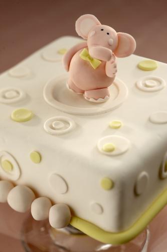 La torta Elefantino, per animare la festa dei bambini