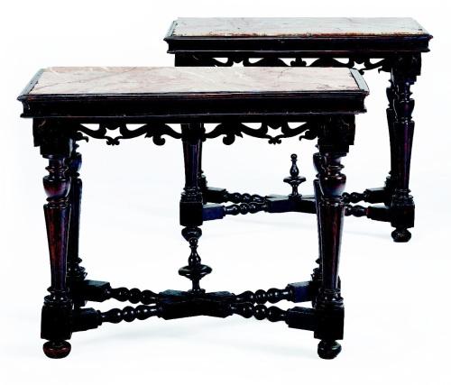 I mobili di antiquariato in mostra alla biennale di - I mobili di luca ...