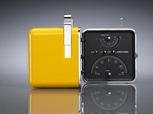 Radio Cubo di Marco Zanuso e Richard Sapper per Brionvega (1964)