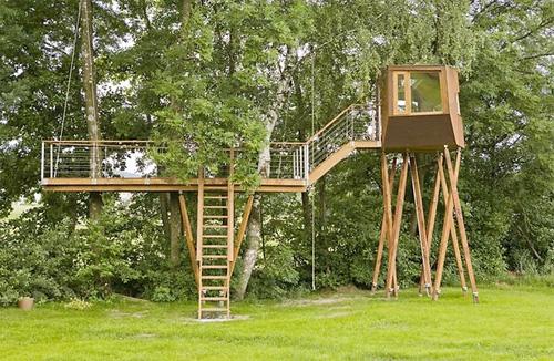 Progetto casa sull albero per bambini - Progetto casa design ...