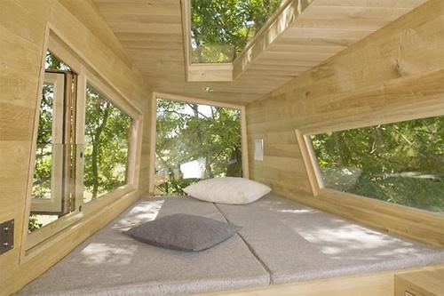 La camera da letto dell'esempio austriaco