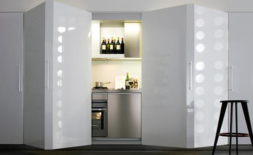 Dada invece presenta Tivalì: la cucina apri e chiudi