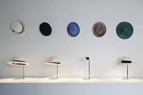 Tanto di cappello per Flos. Di Philippe Starck, le originali lampade Chapeau