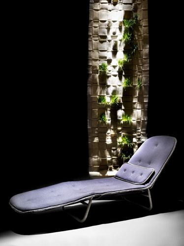 Vertical garden di Jon Hassell per The Woolmark Company