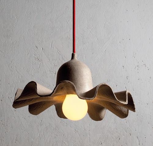 Da Seletti, Egg of Columbus: collezione di tre lampade ispirate alle plissettature dei lampadari di una volta