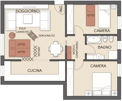 Ospiti sistemiamoli per le feste casa design for Ospiti per casa