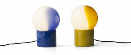 Pulce di Martinelli Luce: il particolare diffusore è caratterizzato da una pennellata colorata. 238 euro