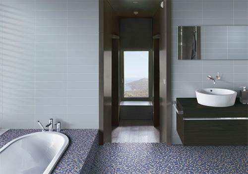 Il bagno si rif il look casa design - Smalto per pareti bagno ...