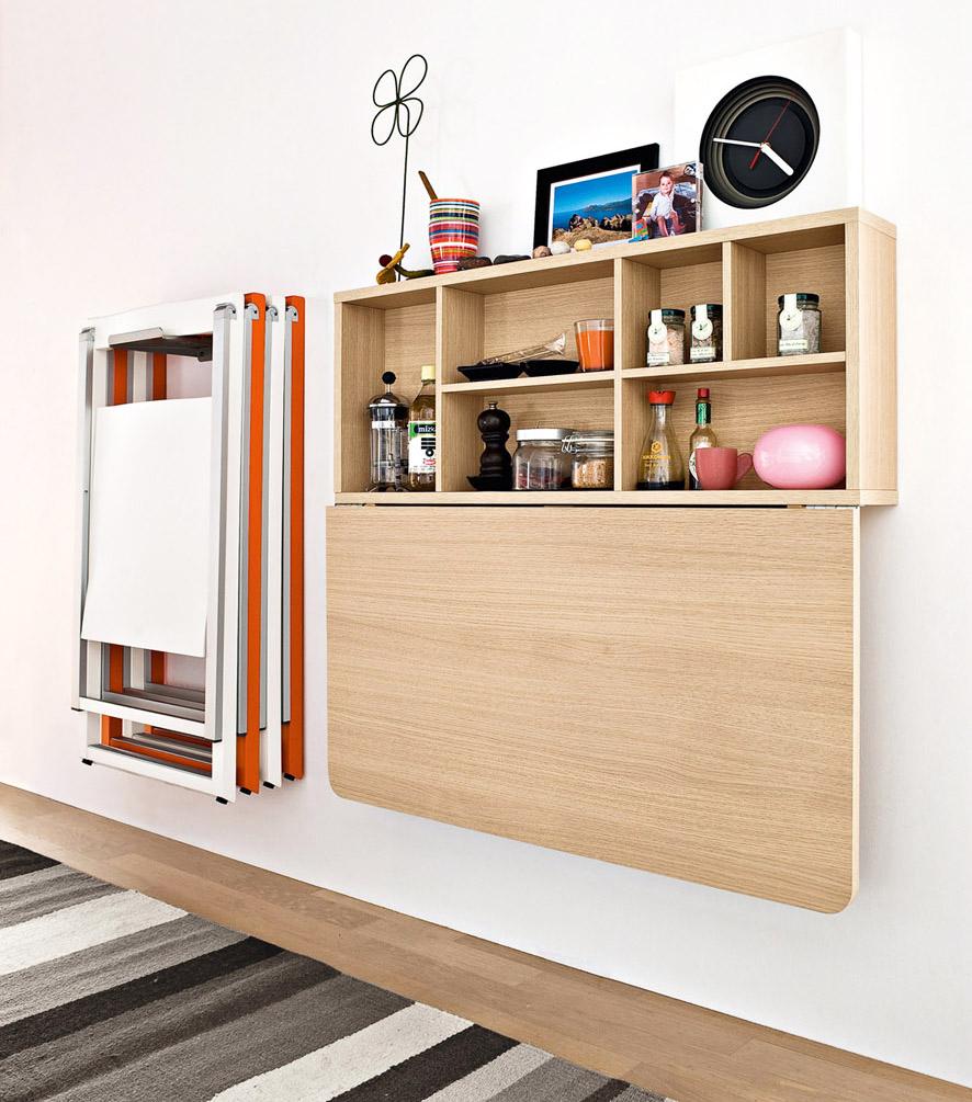 Il corridoio 7 idee smart per arredarlo casa design - Tavolo lungo e stretto ...