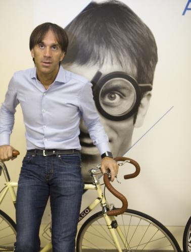 Tra le passioni di Davide Oldani, la bici