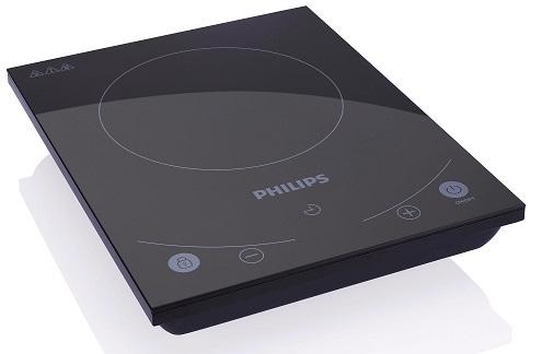 Un'idea alternativa al bbq: la piastra a induzione, con cavo, di Philips, anche per esterni