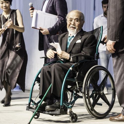 Altro Compasso d'Oro alla carriera: il giapponese Ekuan Kenji. tra i suoi lavori