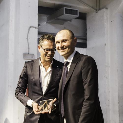 L'azienda Ferrari riceve il premio Compasso d'oro per la F12berlinetta, progettata da Flavio Manzoni - Centro Stile Ferrari, Pininfarina<BR>