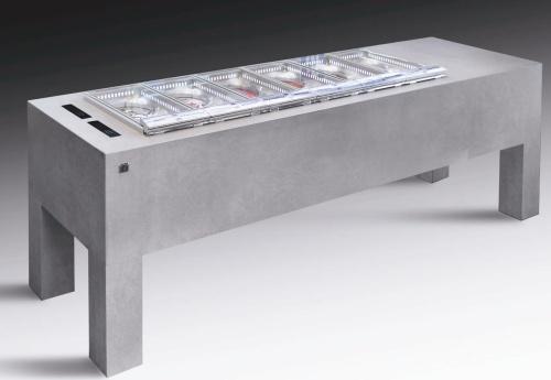 La macchina per il gelato <STRONG>Bellevue<BR></STRONG>Designer: Marc Sadler<BR>Azienda: IFI