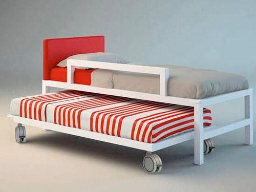 Per i bambini piccoli, il letto estraibile con ruote di Cia International
