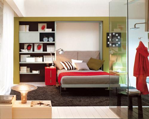 Soluzioni Salvaspazio Camera Da Letto : L ufficio in camera da letto con i mobili u ctrasformistiu d casa